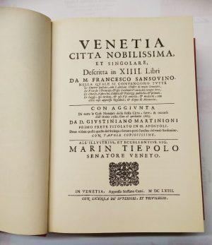 Venetia città nobilissima et singolare