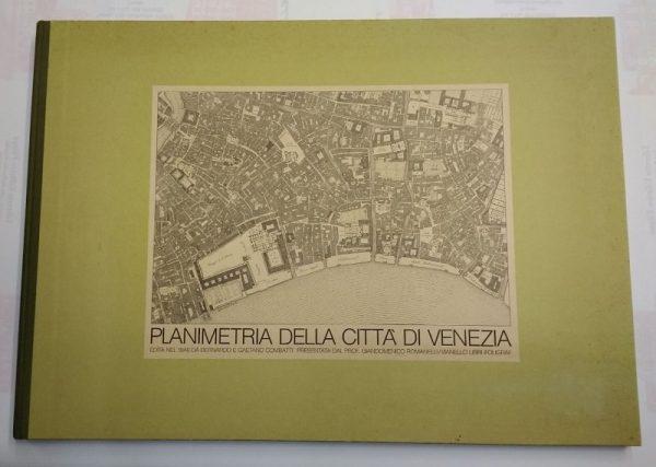 Planimetria città di venezia (1846)